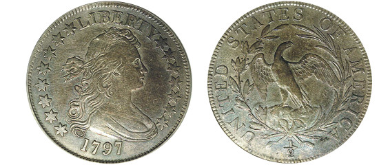 Draped-Bust-Half-Dollar-Value-Small-Eagle