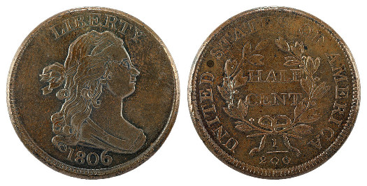 Draped-Bust-Half-Cent-Value