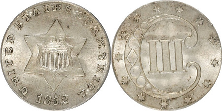 Three-Cent-Silver